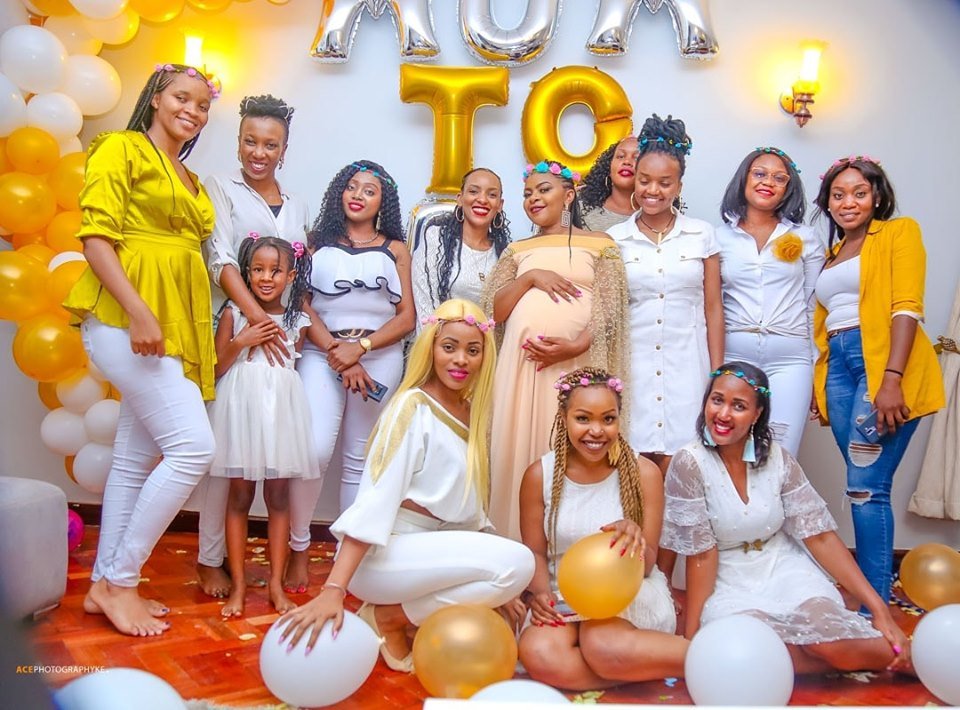Size 8 baby shower