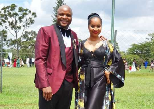 Jaber is Jaber: Jalango's wife steps out sizzling hot during wedding