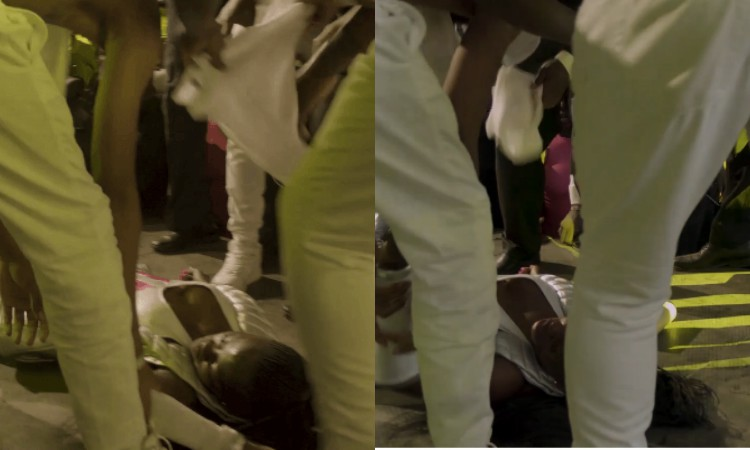 Exclusive! Akothee collapses on stage at Luo Festival in Kisumu (Video)