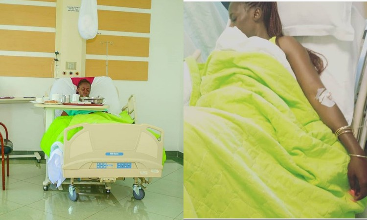 Akothee hospital - '…an orphan at 25 and your mjuls is doing rounds?' Akothee blasts bloodsuckers