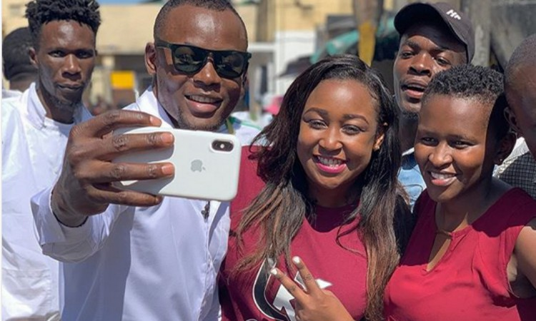'I threw a stone at them,' Arrow Bwoy narrates how he separated his parents from fighting