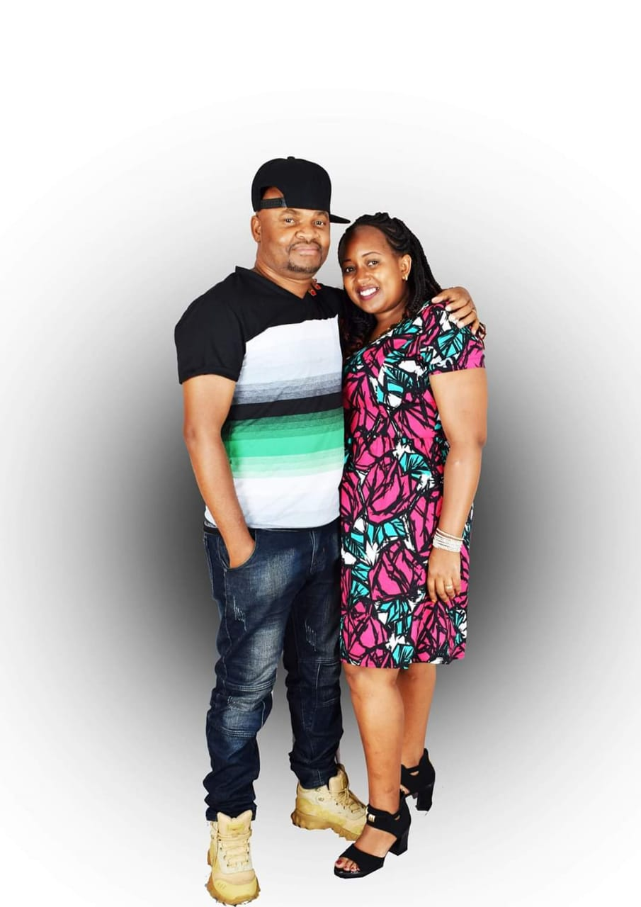 DJ Patchez the Mixboss with his wife