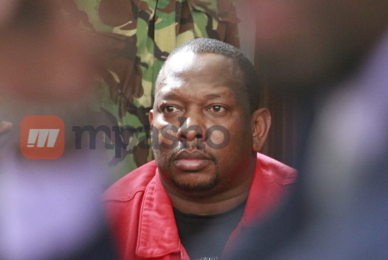 First photos of Mike Sonko after spending the night at Kenyatta hospital