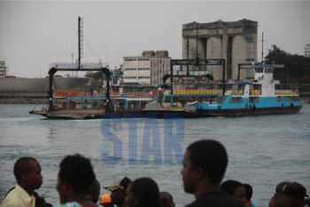 ferry 350x233 - Saloon car plunges into Indian Ocean, Recovery efforts ongoing