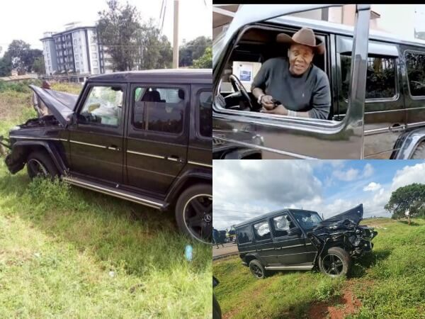 'I am fine' Jeff Koinange assures Kenyans as look alike car is involved in an accident