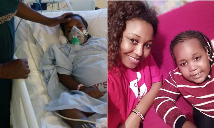 Betty Kyallo and daughter