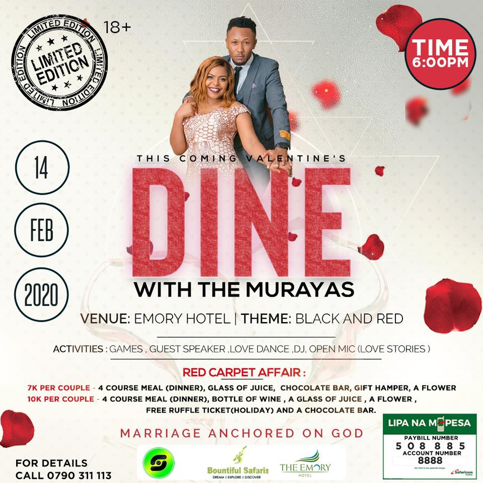 Dine with the Murayas