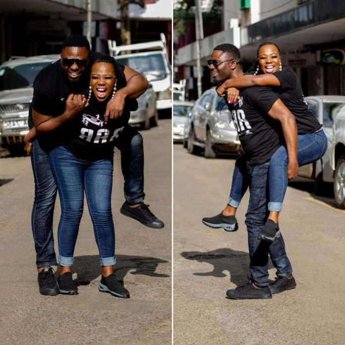 FB IMG 1580479005446 696x696 - Photos of Ruth Matete's hubby falling on church make rounds