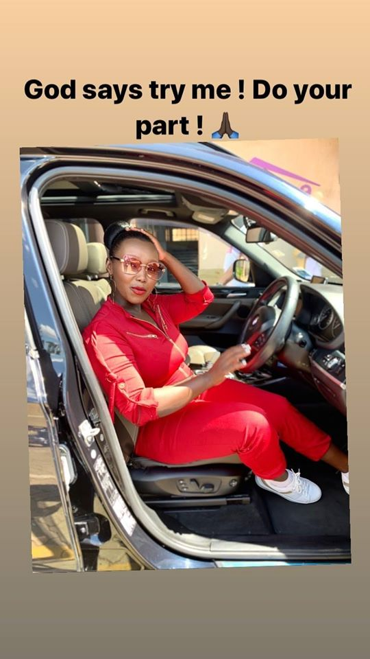 Kater Actress car - See God! Kate Actress's hubby buys her a car worth your whole year's rent as a push gift