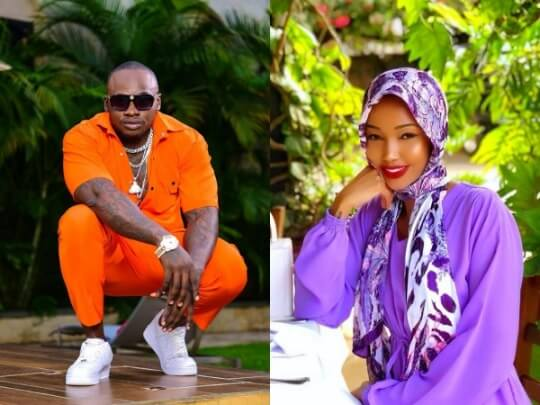 Khaligraph and 1 1 - 'There is no beef between me and Huddah,' Khaligraph clears the air