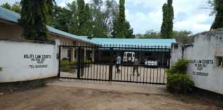 The Kilifi law court where a teenager girl appeared onTuesdayon charges of concealing a birth.