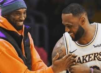 Kobe and BFF LeBron