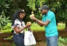 Kipchumba Murkomen and his wife