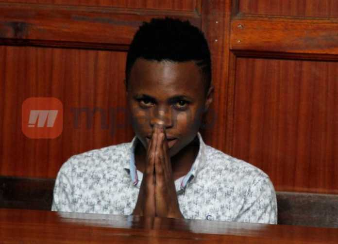 Peter Blessing in court Mpasho2 1 696x503 - Watch Peter Blessing's song that annoyed Bahati till he arrested him and the producer