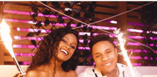 Dre and Vanessa Mdee