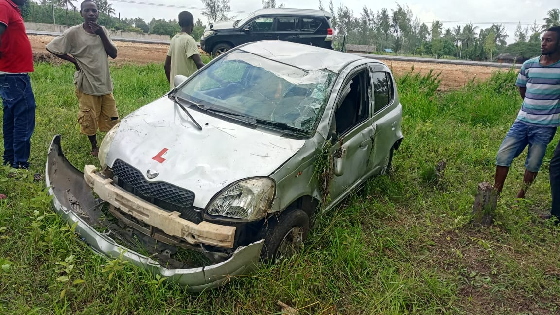 WhatsApp Image 2020 01 16 at 14.43.34 - Ex Star correspondent escapes death after being involved in an accident