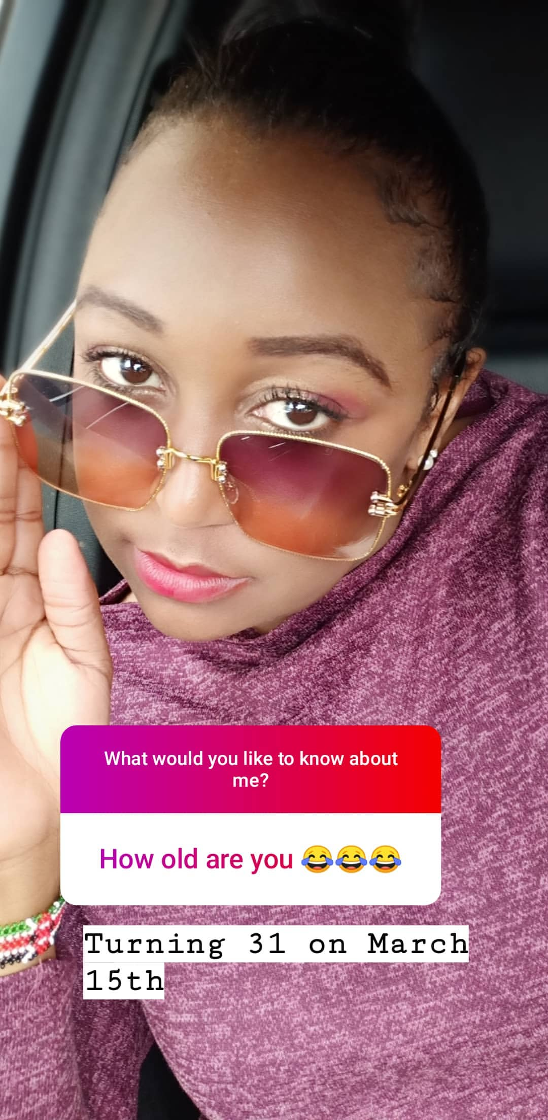 bettymuteikyallos story on Instagram uploaded 30.01.2020 10.28 GMT - Betty Kyallo talks upcoming wedding, fears and Ivanna's recovery