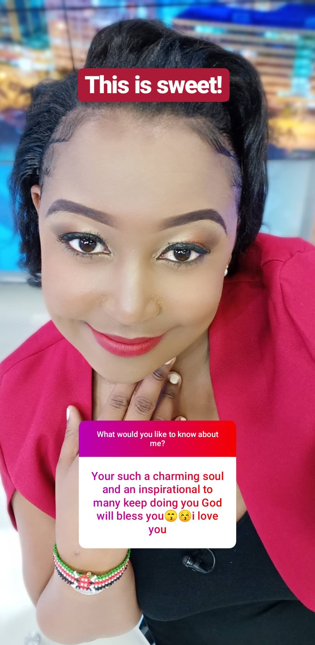 bettymuteikyallos story on Instagram uploaded 30.01.2020 10.48 GMT - Betty Kyallo talks upcoming wedding, fears and Ivanna's recovery