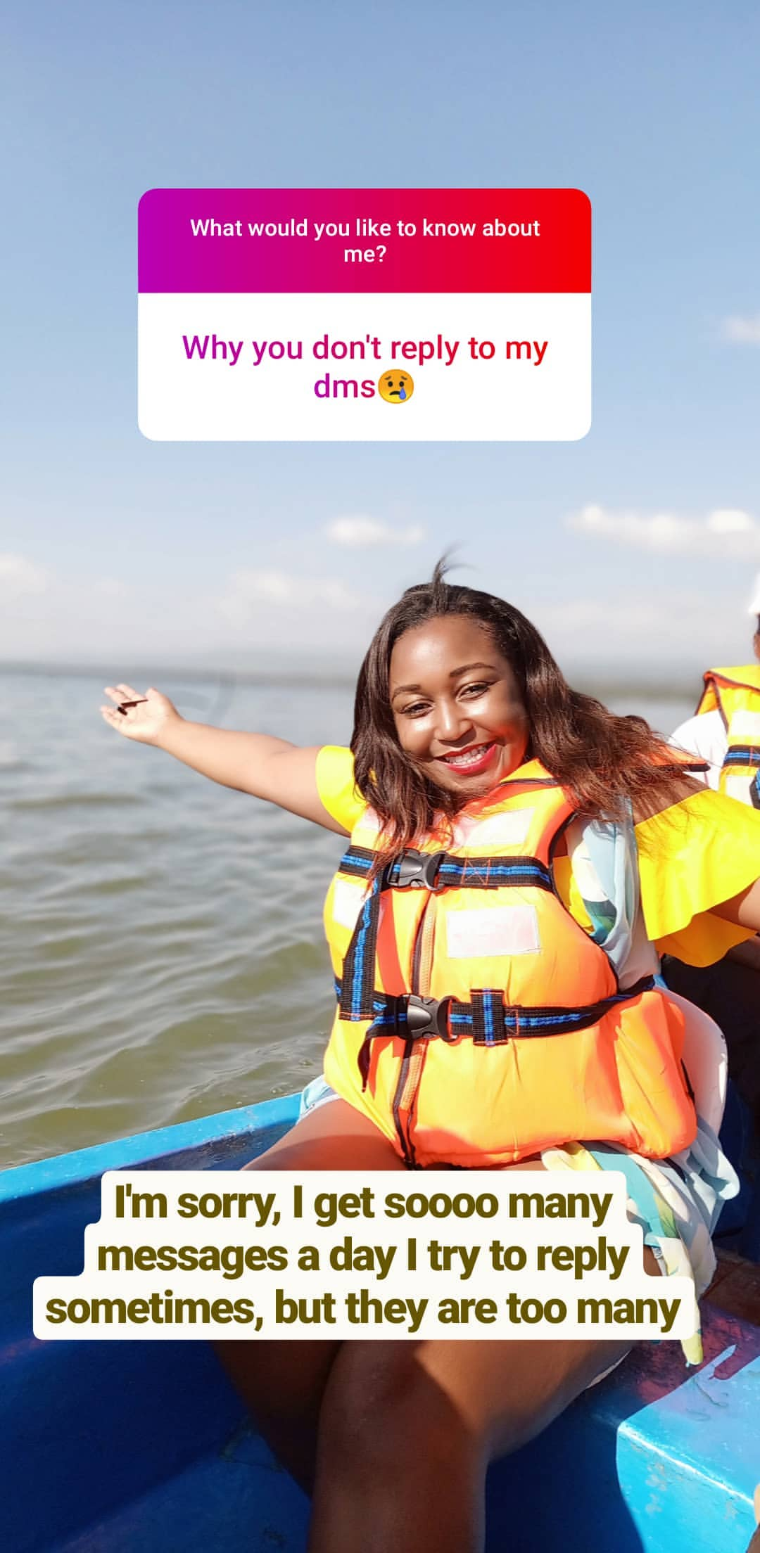 bettymuteikyallos story on Instagram uploaded 30.01.2020 10.54 GMT - Betty Kyallo talks upcoming wedding, fears and Ivanna's recovery