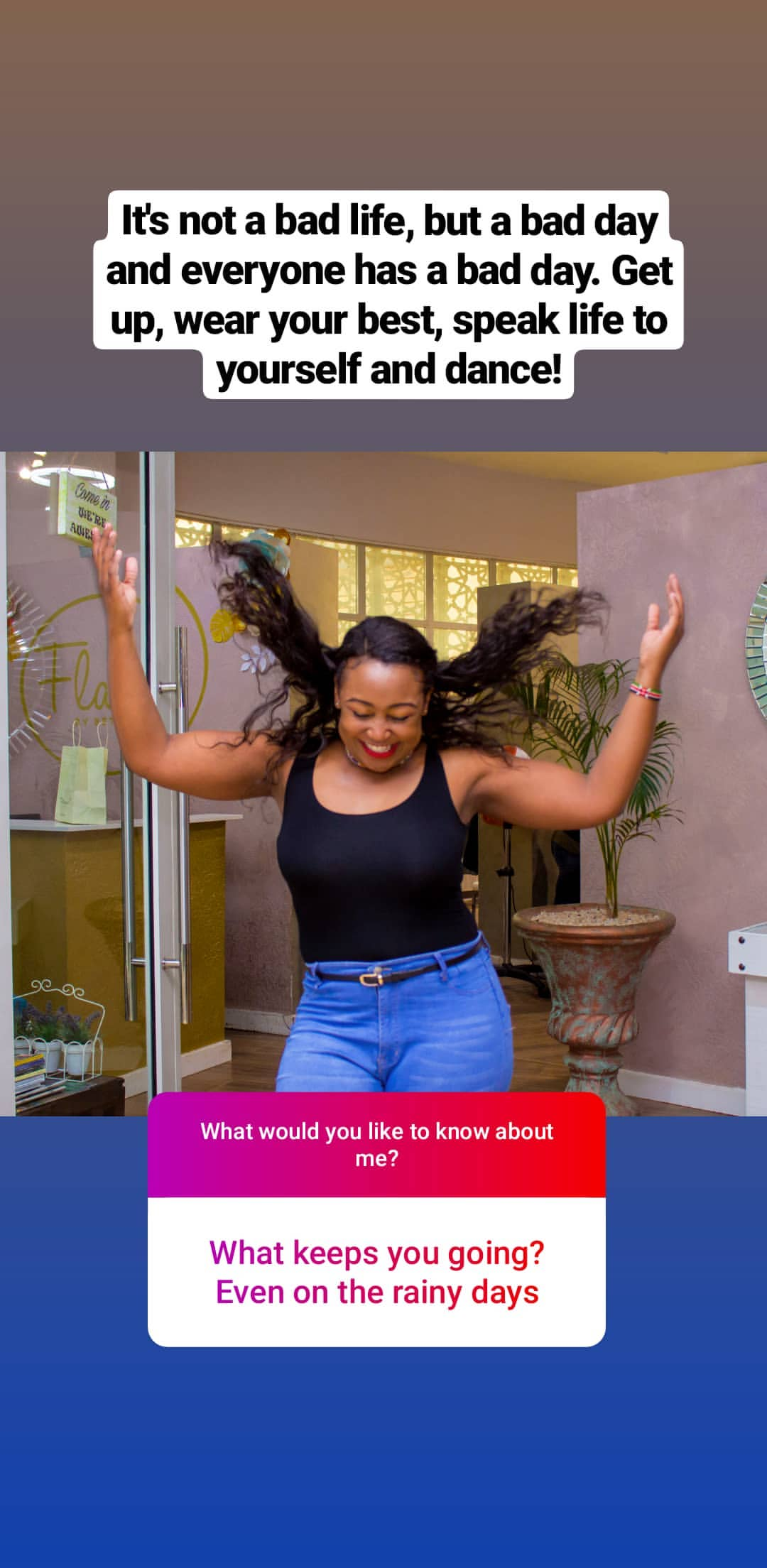 bettymuteikyallos story on Instagram uploaded 30.01.2020 10.58 GMT - Betty Kyallo talks upcoming wedding, fears and Ivanna's recovery