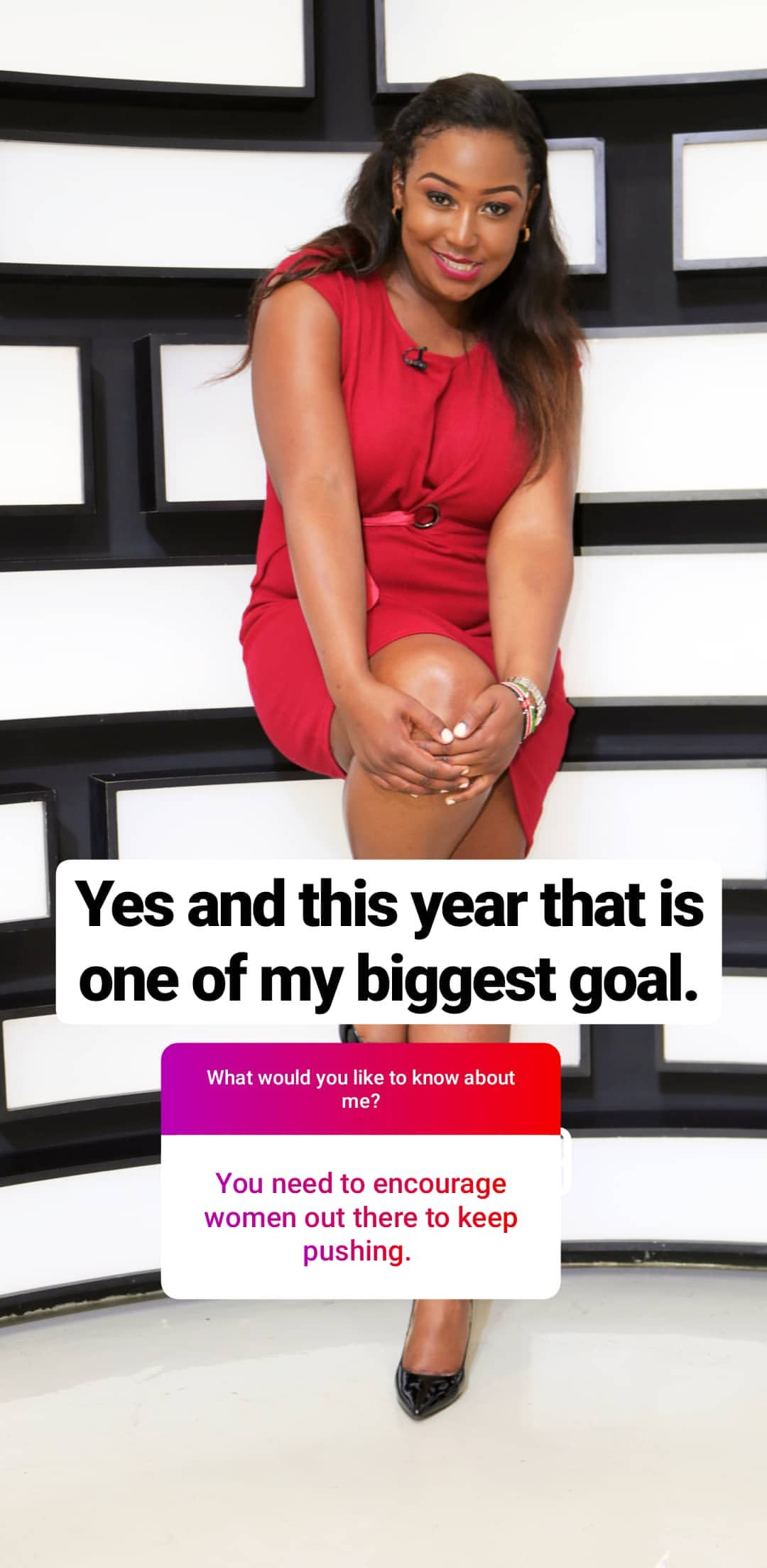 bettymuteikyallos story on Instagram uploaded 30.01.2020 11.00 GMT - Betty Kyallo talks upcoming wedding, fears and Ivanna's recovery