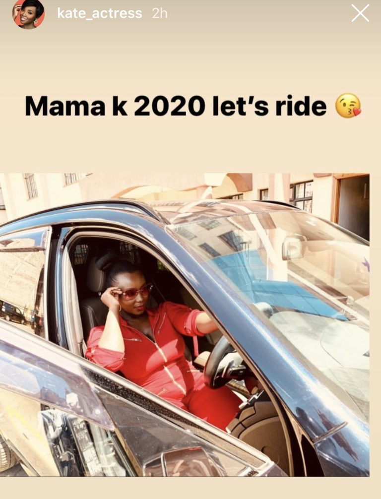 celina ride - See God! Kate Actress's hubby buys her a car worth your whole year's rent as a push gift