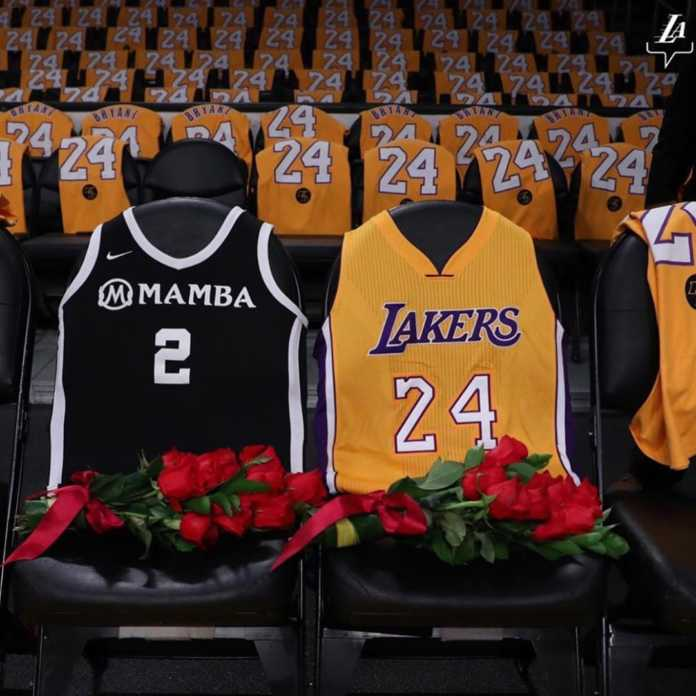 82003610 157970095706731 5679342220735051497 n 696x696 - Kobe Bryant's jersey numbers 8 and 24 officially retired, here is why