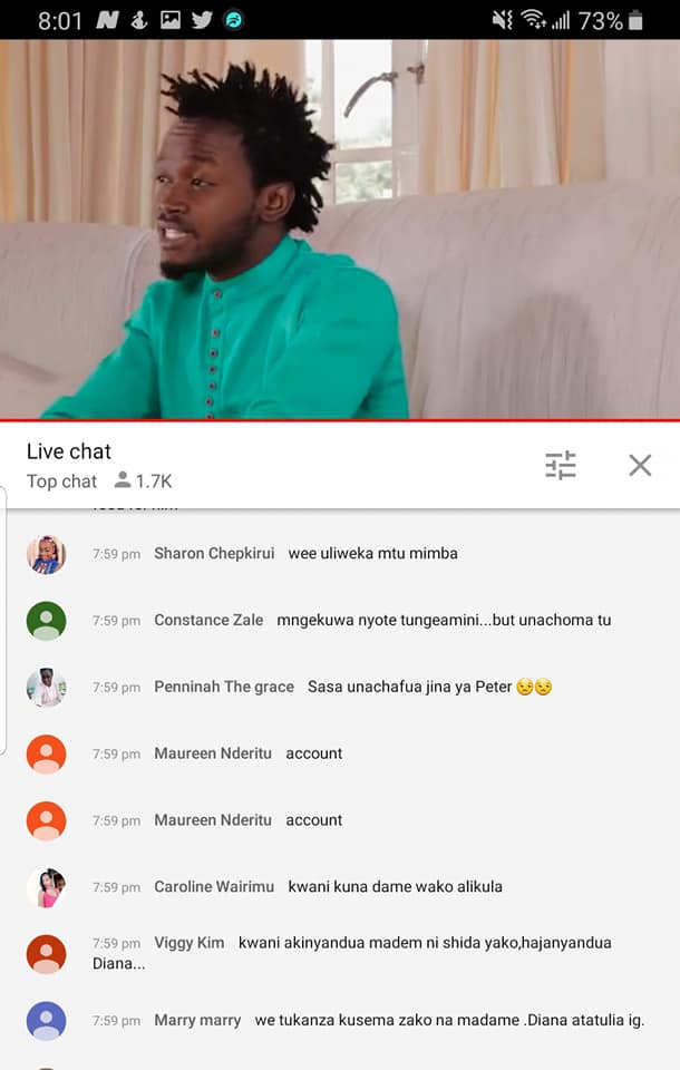 Bahati 26 - 'Kwani how many baby mamas do you have? Fans roast Bahati after claiming Peter Blessing was promiscuous
