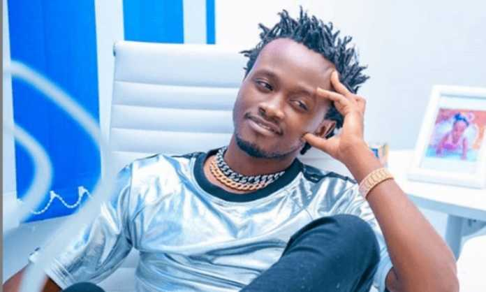 Bahati Kenya music 696x418 - 'Kwani how many baby mamas do you have? Fans roast Bahati after claiming Peter Blessing was promiscuous