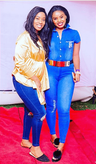 Diana Marua and Staicey