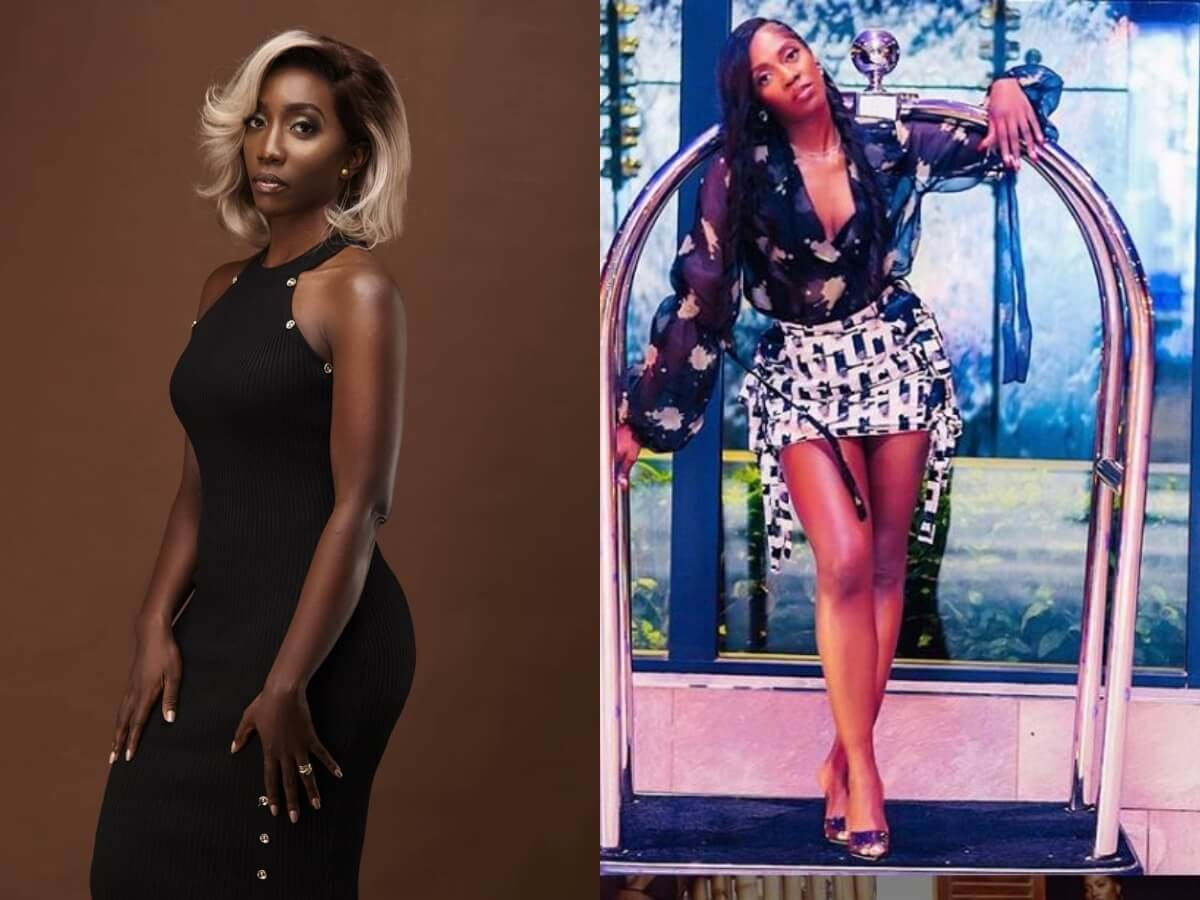 Yvonne Okwara and Tiwa Savage