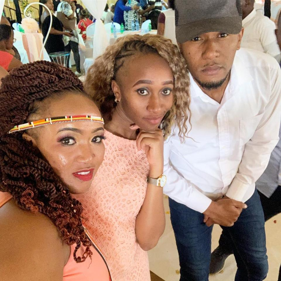 DJ Mo and his sisters