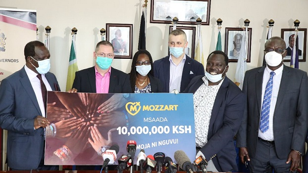 Mozzartbet Kenya Ltd has joined other Kenyans of goodwill in contributing towards the efforts to combat the deadly Covid-19 Pandemic.