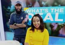 Betty Kyallo and Shaffie Weru