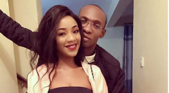 Comedian Ofweneke with wife