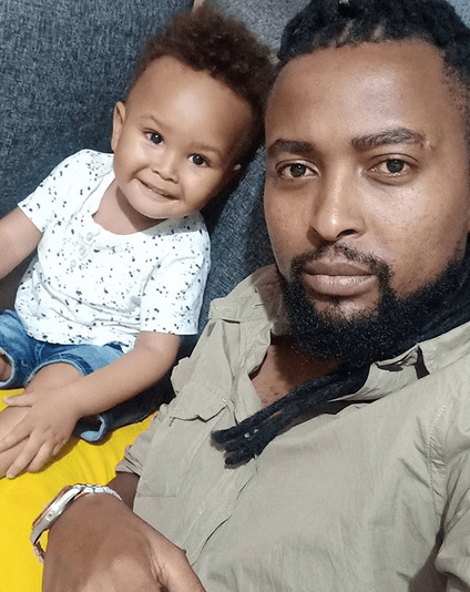 Shaniqwa with his son