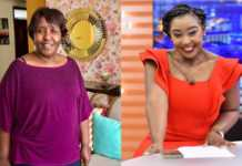 Betty Kyallo and her mother