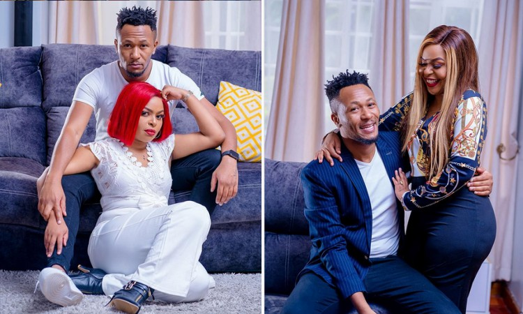 'Wewe ni mama's boy' Size 8 laments, DJ Mo responds defending his mother