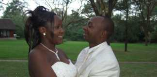 Simon and Sarah Kabu