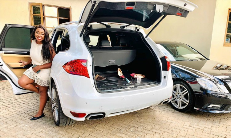 Betty Kyallo Porsche