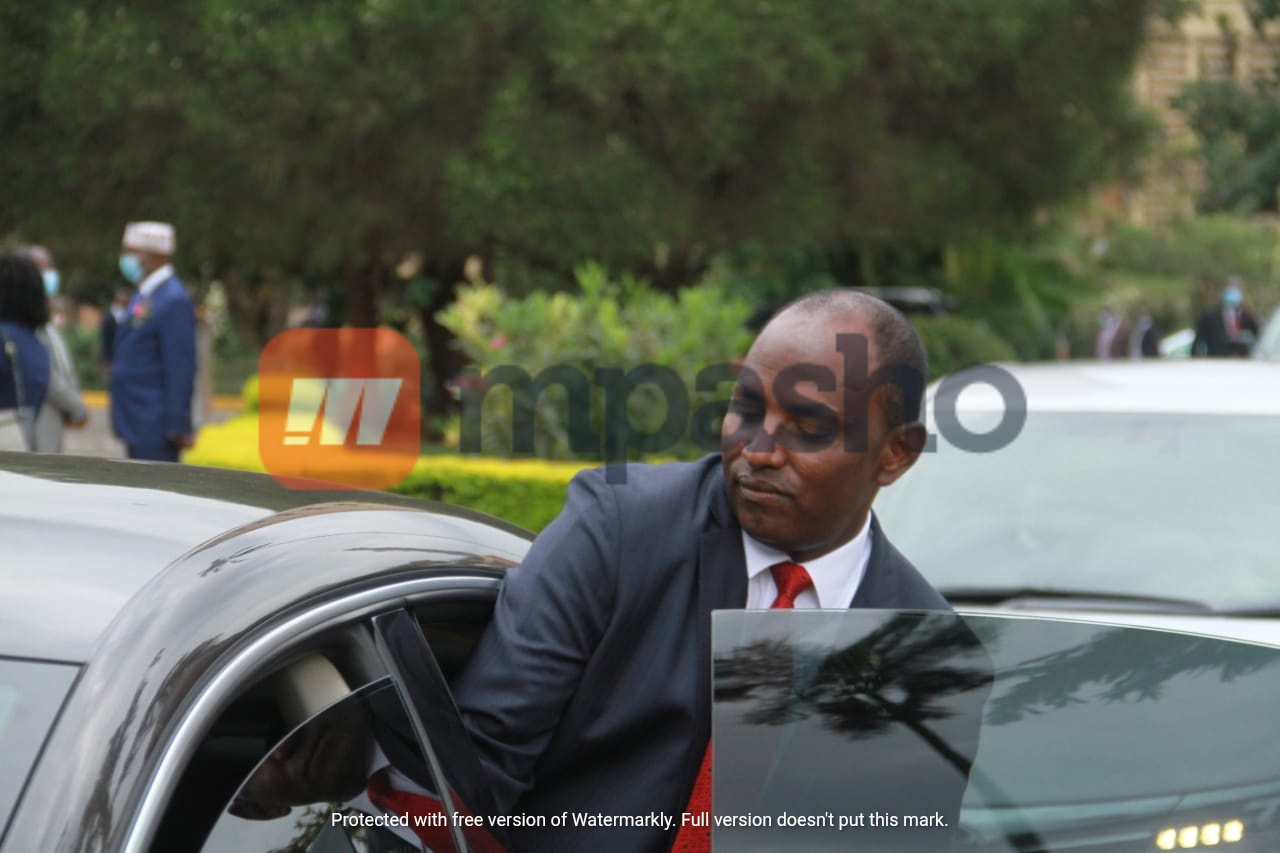 Wanaume kamili! Photos of Treasury CS Ukur Yatani's sons showing their support