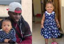 Khaligraph Jones and daughter