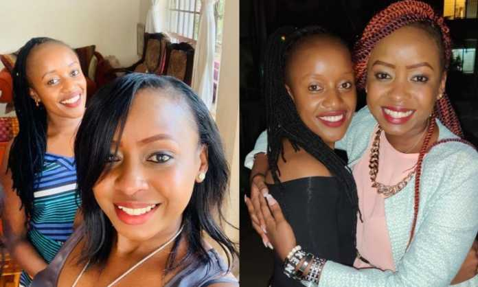 Maribe and her bff