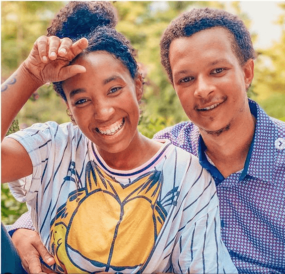Tatiana Karanja and her husband