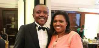 Maina Kageni and Tabitha Karanja