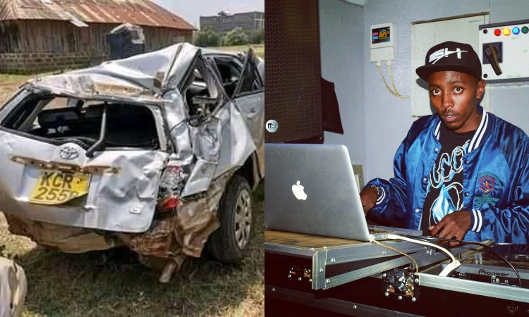 Kifo hakina huruma! Photos of the popular DJ who died a grisly road accident