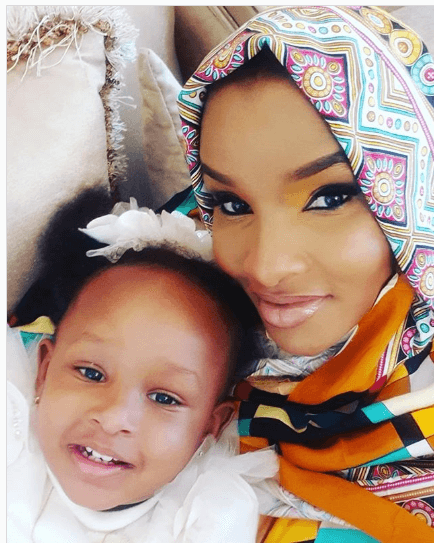 Lulu Hassan and her daughter