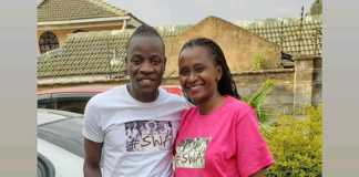 Guardian Angel and Esther Musila