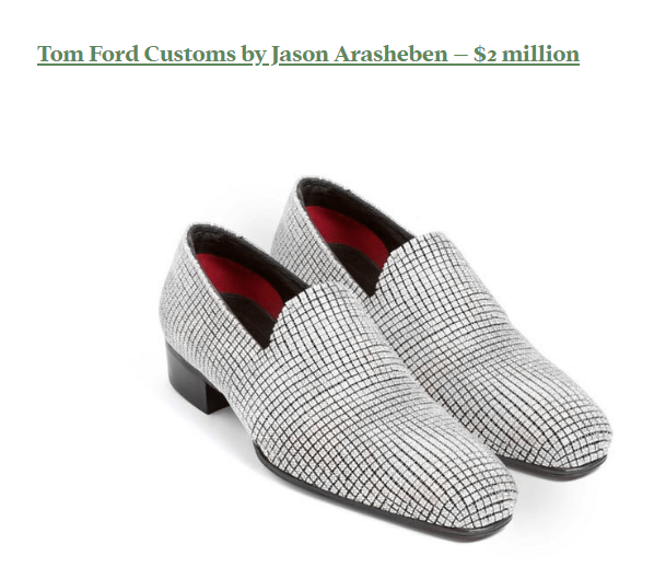 expensive shoes