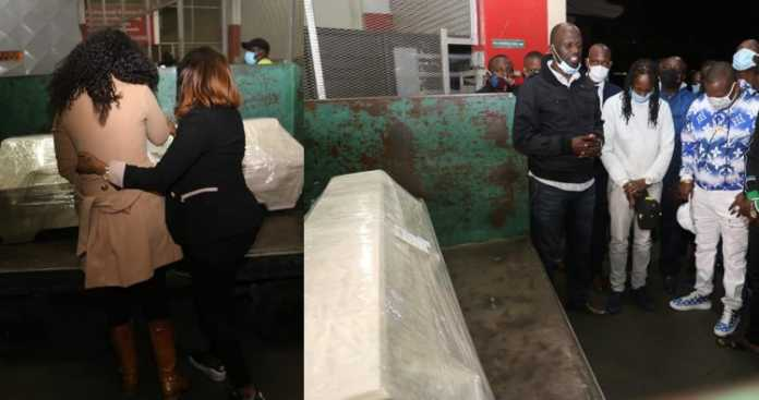 Kevin Oliech's body arrives at JKIA